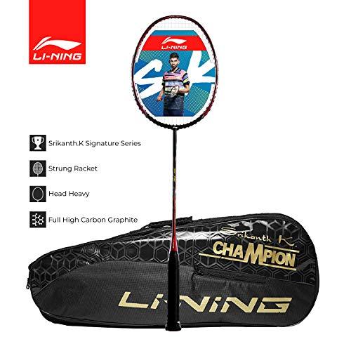 Li-Ning SK Series Carbon-Graphite Strung Badminton Racquet with Free Kit-Bag Price & Reviews
