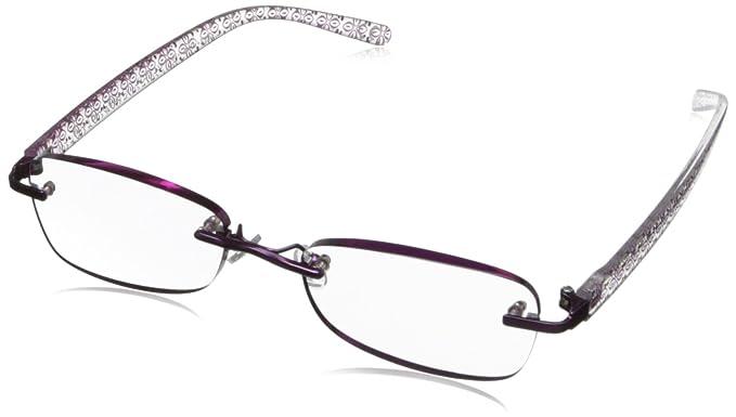 513ac8001e23 Amazon.com: Foster Grant Women's Daniella Rimless Reading Glasses ...