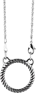 product image for Danforth - Rope Eyeglass Necklace - Pewter - 24 Inches - Rope Chain - Handcrafted