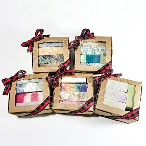 Handmade Gift Set - 4 Dessert Scented Soaps - More than 1 pound of soap!!