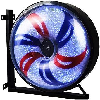 "Poste De Barbero Luminoso Aire libre 27"" / 38"" LED de poste del ..."