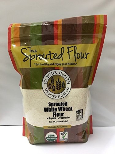 5lb. Organic, Sprouted White Wheat Flour