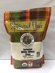 Amazon.com : 5lb. Organic, Sprouted White Wheat Flour