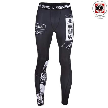 Tatami Fightwear Kanagawa Spats Black - For Men Compression ...