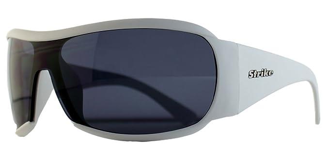 Modische Strike Sportbrille / Sonnenbrille 215 weiß q7gCV