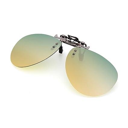 Gafas de Sol Clip en Gafas de Sol Drive Night Vision Polarizado Hombres y Mujeres Day