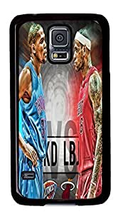 custom and diy for samsung galaxy s5 2014 nba all star Kevin Durant vs LeBron James by jamescurryshop by ruishername