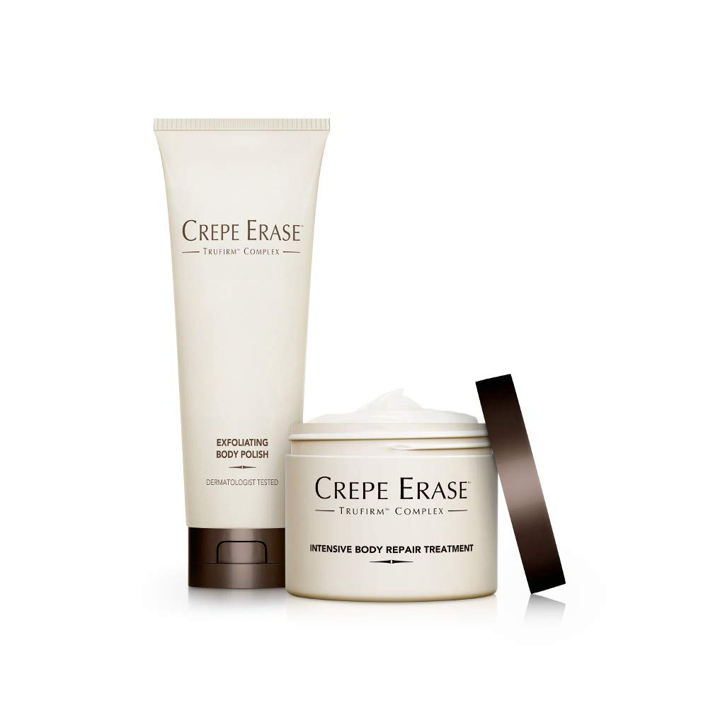 Image of Health and Household Crepe Erase – Trial Size Body Duo – TruFirm Complex – Intensive Body Repair Treatment