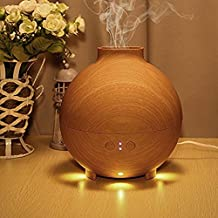 Ryham 600ml pod shaped grain aromatherapy diffuser Ionizer Ultrasonic Humidifier Use