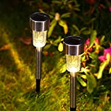 (12Pack) Solar Pathway Lights Outdoor, Wireless LED