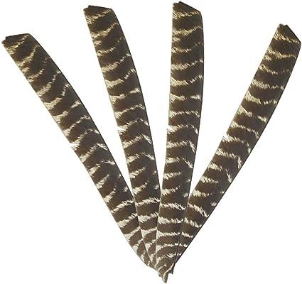 Arrow Wraps #10061 Flag 1-Dozen Vanes Feathers Carbon Arrows Fletching