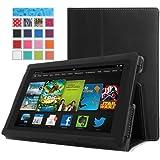 """'MoKo mok86157""""Folio schwarz Tasche für Tablet–Hülle für Tablets (Folio, Amazon, Amazon Fire HD, 17,8cm (7), Schwarz)"""