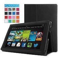 """MoKo mok86157""""Folio schwarz Tasche für Tablet–Hülle für Tablets (Folio, Amazon, Amazon Fire HD, 17,8cm (7), Schwarz)"""