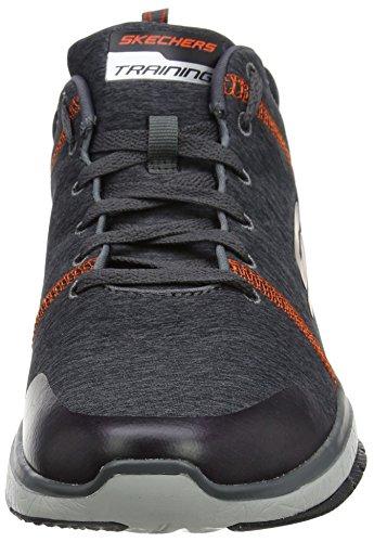 2015 new cheap online sale shop offer Skechers Men's Burst Tr-Locust Trainers Grey (Charcoal/Orange) discount codes shopping online cheap 2015 new cheap sale official site 761Oxsd