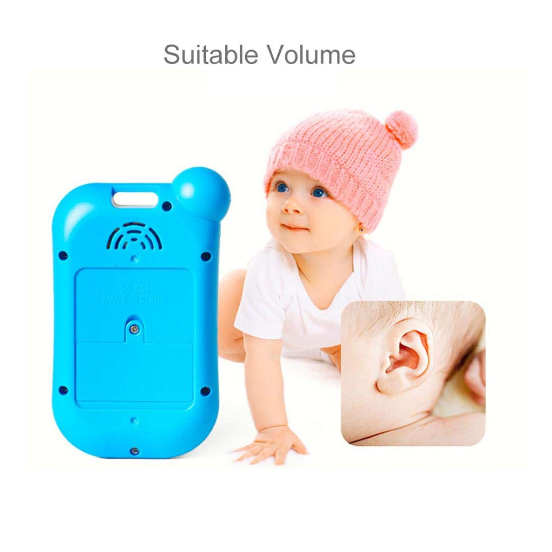 Gaddrt Kids Music Sound Smart Phone Toy Baby Stop Crying Mobile Phone Educational Toy