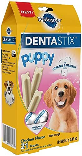 Dog Treats: Pedigree Dentastix Puppy