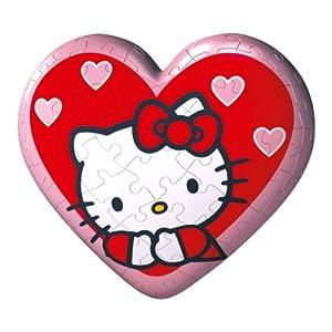Ravensburger Hello Kitty Puzzleball A Forma Di Cuore Da 60 Pezzi