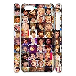 WJHSSB Customized 3D case One Direction for iPhone 5C