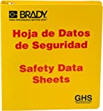 """Product review for Brady 121185 GHS - 1.5"""" Safety Data Sheet Binder - Spanish"""