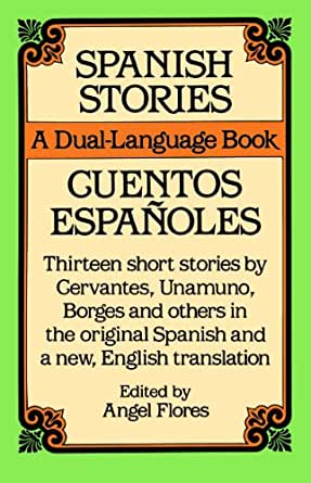 spanish stories a dual language book dover dual language