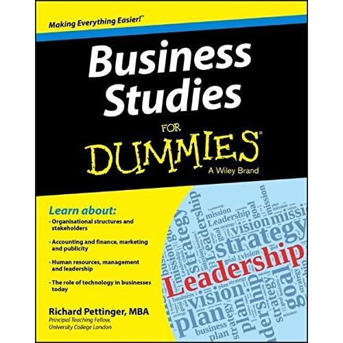 Business Studies For Dummies