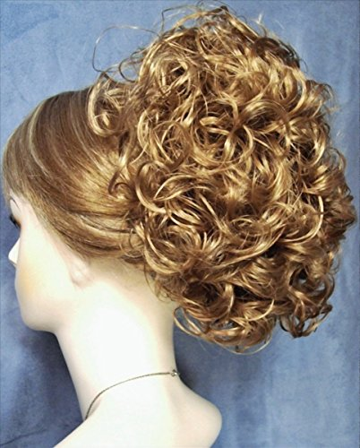 PHOEBE Clip On Hairpiece by Mona Lisa - 19 Light Strawberry Blonde