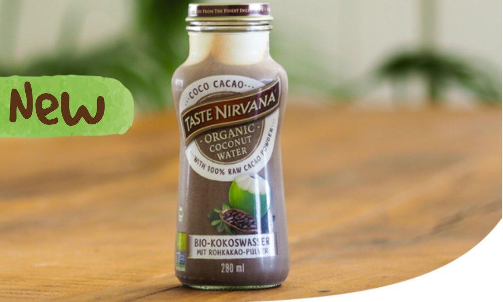 TASTE NIRVANA BIO KAKAO DRINK - superclean, ungesüßt, ohne Milch ...