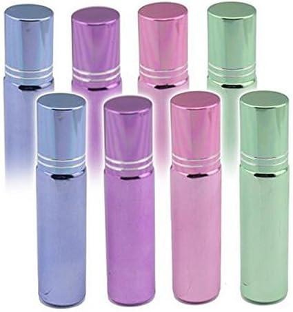 10 ml Empty Rellenable Perfume Aceite Esencial botellas de líquido ...
