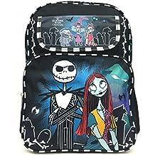 Disney Nightmare Before Christmas Jack and Sally Large School Backpack Bag