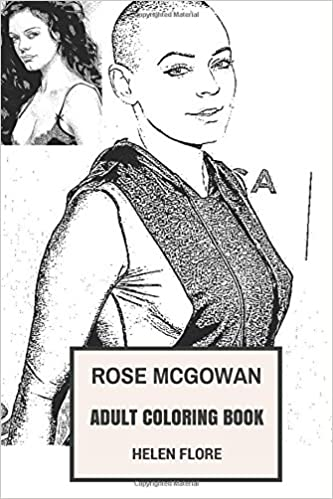 Amazon.com: Rose McGowan Adult Coloring Book: Charmed Star and ...