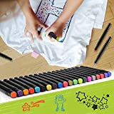 Fabric Markers Pens Permanent, Non Toxic Fabric