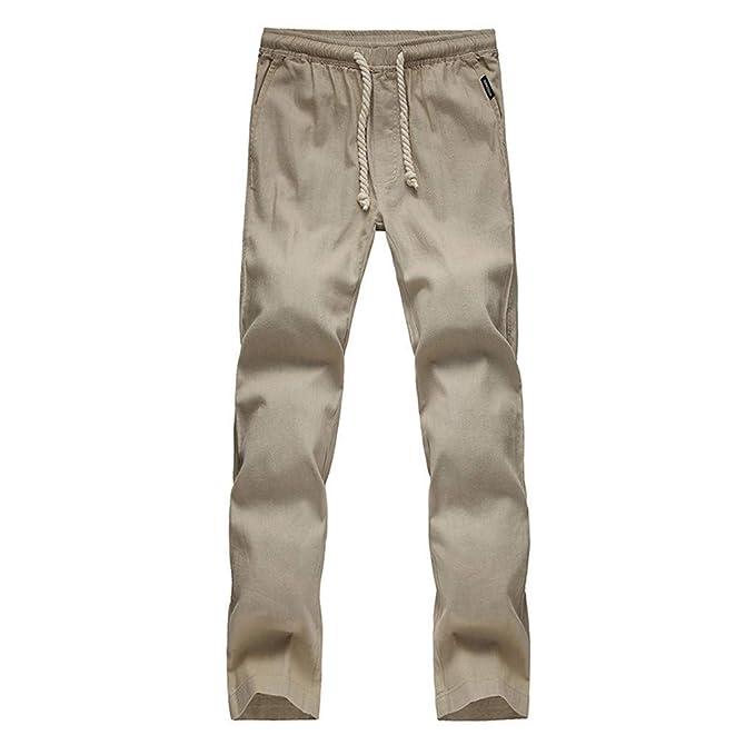 Pantaloni da Spiaggia Larghi da Uomo Pantaloni Estivi