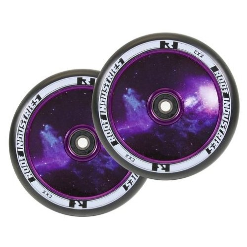 Root Industries Air Limited Edition Wheels Black/Galaxy - 110mm (Pair)