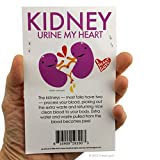 I Heart Guts Share Your Kidneys Stickers - 15