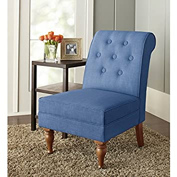 Phenomenal Amazon Com New Colette Tufted Accent Chair Blue Kitchen Ocoug Best Dining Table And Chair Ideas Images Ocougorg