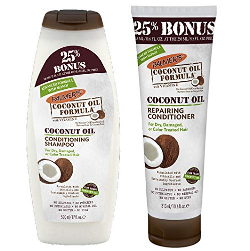 Palmer's Coconut Oil Formula Conditioning Shampoo & Repairing Conditioner Bonus ()