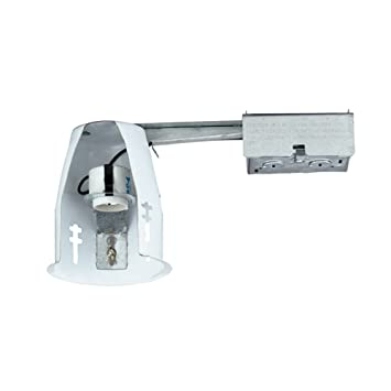 NICOR Lighting 19001AR Airtight Remodel Housing Recessed Can Light, 4 Inch