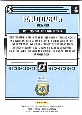 Amazon.com: 2018-19 Panini Donruss Soccer #90 Paulo Dybala ...