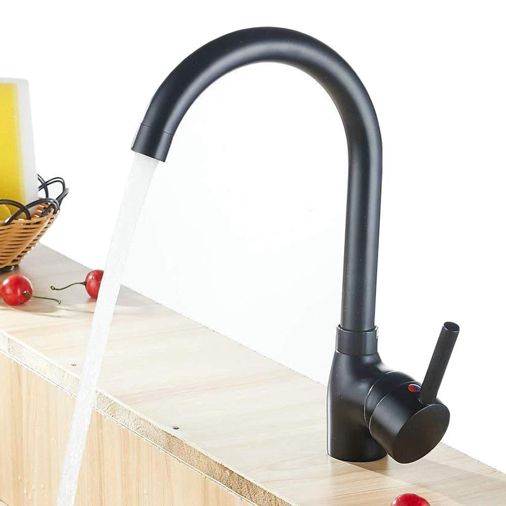 laiton antique robinet mitigeur de cuisine à levier Lavabo Robinets Girafe robinet de lavabo avec bec pivotant XINYU TRADE