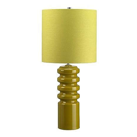 Elstead - Contorno 1 Lámpara de mesa Luz - cal CONTOUR/CAL ...