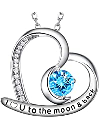 Christmas December Birthstone Jewelry Gifts for Women...