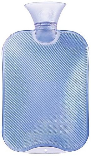 Transparent Classic Hot Water Bottle - Made in (Bottles Made)