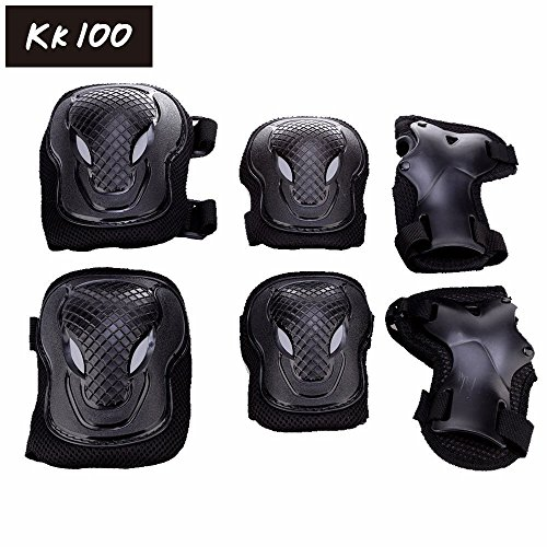 kk-100-adult-unisex-cycling-and-roller-blading-wrist-elbow-knee-protective-safety-gear-guard-6pcs-se