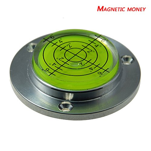 Aluminum Alloy universal level instrument level level level water bead instrument quasi straight through 50MM magnetic bubble ()