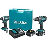 Makita XT261M 2 Piece 18V Lithium-Ion 4.0 Ah Cordless Combo Kit For Sale