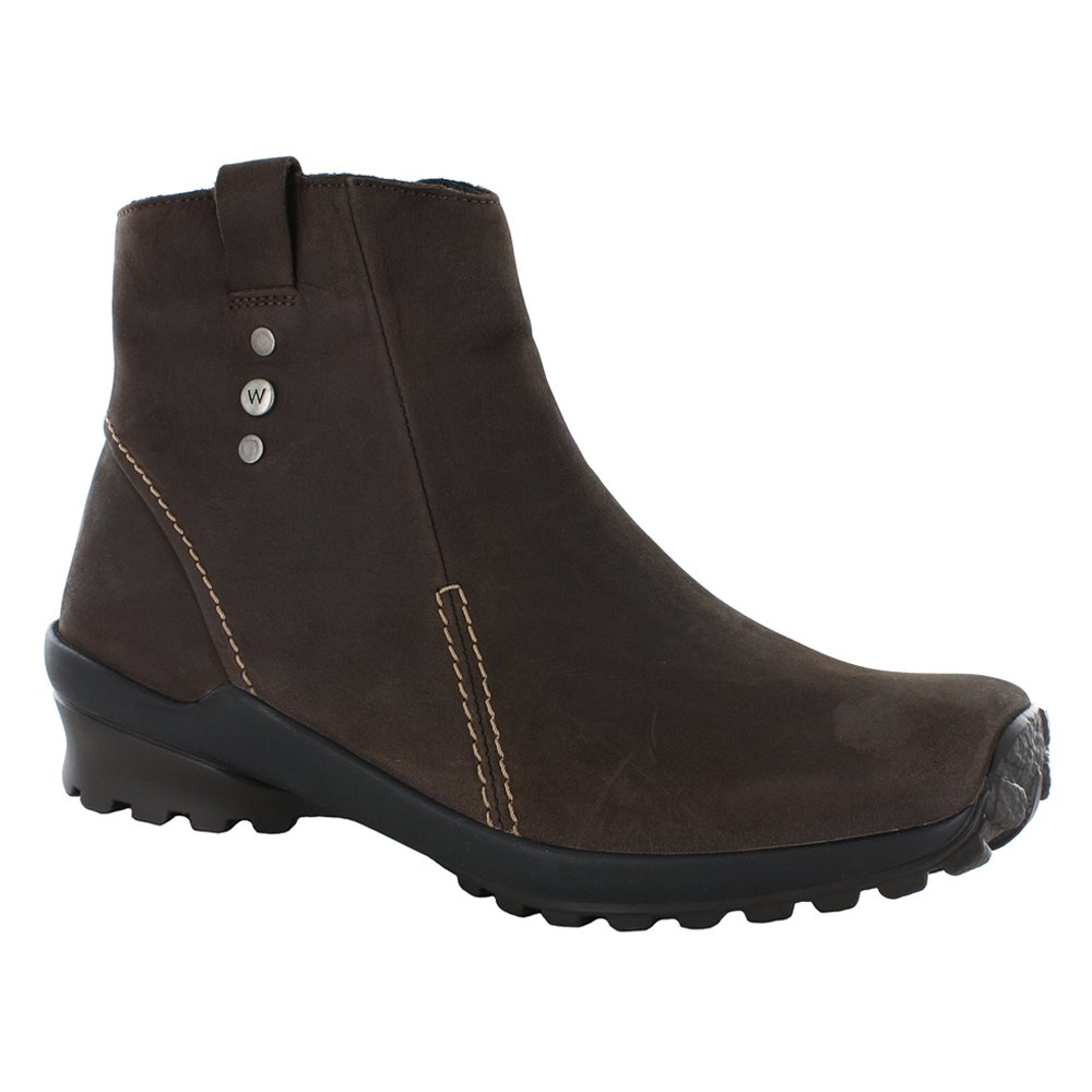 Wolky Women's Zion WP Boots B0042LHTSY 37 M EU / 5.5-6 B(M) US|Brown Nepal Oiled Leather