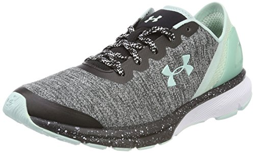Gris Noir Charged Armour Under UA de Compétition Escape Femme Chaussures Running W Black PnvTFv