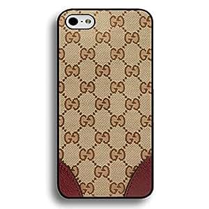 Gucci Logo Phone Case Black Hard Plastic Case Cover Snap On Iphone 6/6S,Gucci Logo Iphone 6/6S Case(Black)