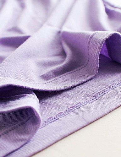femme camisole gorge Alizeal Violet Intégré Soutien T0ZOOw