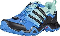 adidas Outdoor Women\'s Terrex Swift R GTX? W Ray Blue/Black/Ice Green Sneaker 7 B (M)